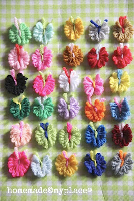 scarp yarn butterfly tutorial