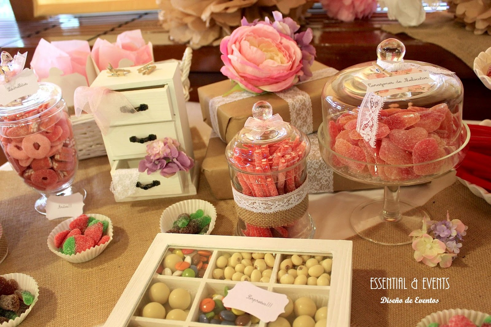 Candy bar buffet de chucher as ideas originales para - Buffet de cumpleanos ...