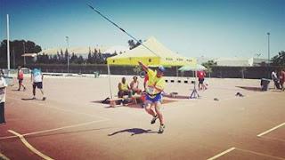 El Atleta Invidente Toni Palma Logra el Bronce en el Nacional