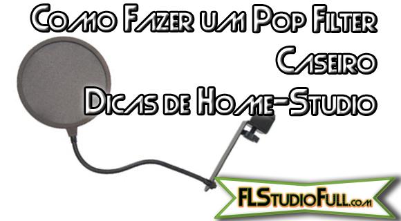 Como Fazer um Pop Filter Caseiro - Home Studio