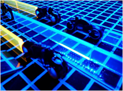 Tron light cycle board game