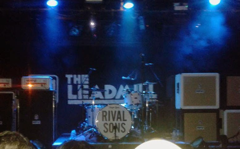 Drum kit Rival sons at the Leadmill Sheffield November 2014