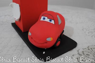 Lembrancinha Carros Relâmpago MacQueen Biscuit