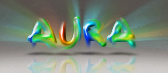 Aura Colourfull Text Effect