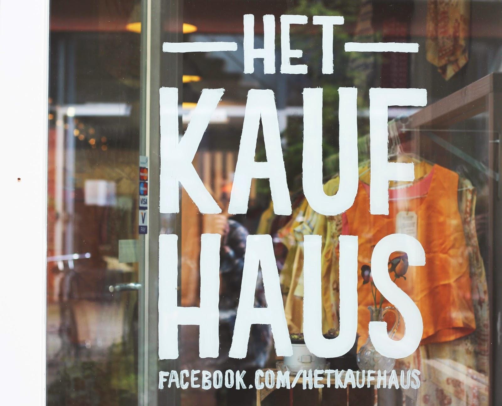 het kaufhaus amsterdam