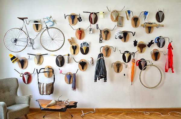 Geniales ideas para reciclar tu vieja bicicleta.
