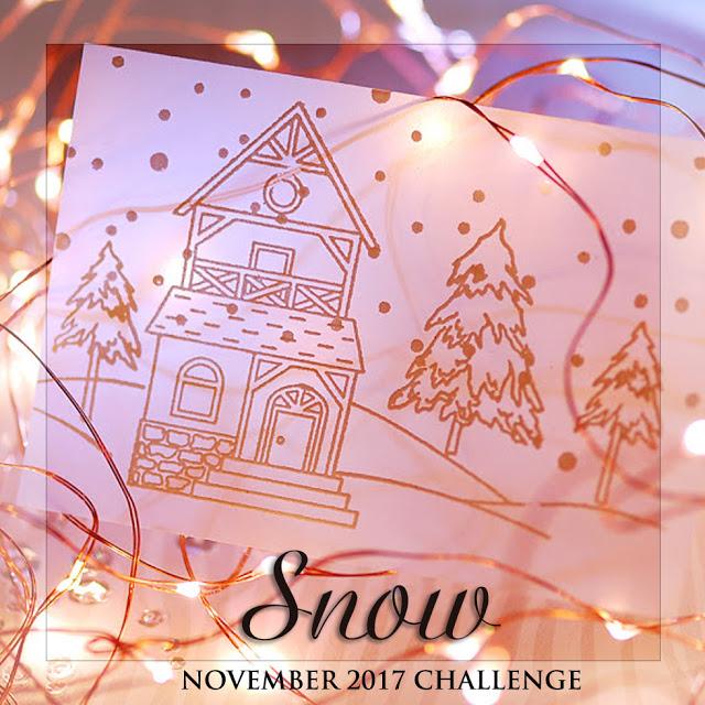 "Завдання листопада ""Сніг""/November challenge ""Snow"" до 30/11"
