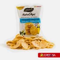 Natuchips Aceite de Oliva y Sal Marina