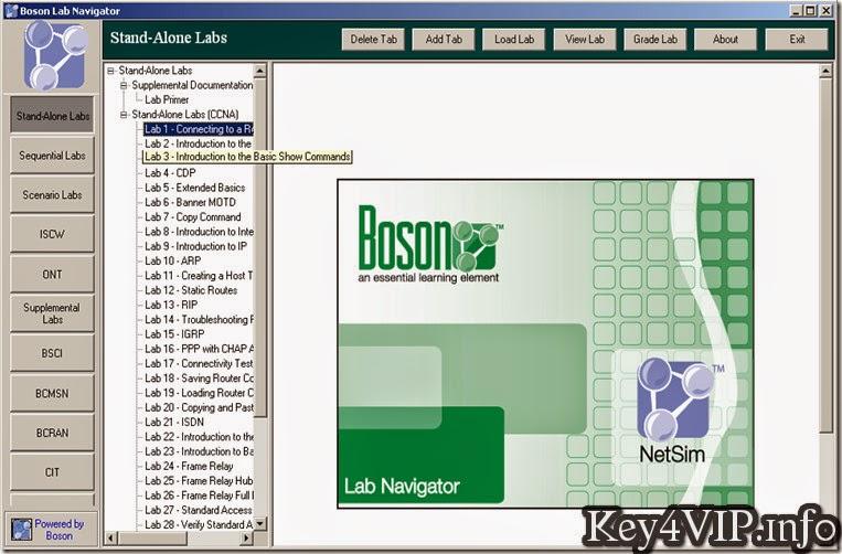 Boson Netsim Network Simulator 10.6.5574.17128 Full Key,Phần mềm mô phỏng thiết bị mạng
