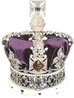 Morning Special  Queen Elizabeth II Shows the Imperial State CrownQueen Elizabeth Crown