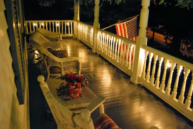 Sit a spell and shoot the breeze at The Claiborne House Bed and Breakfast of Virginia