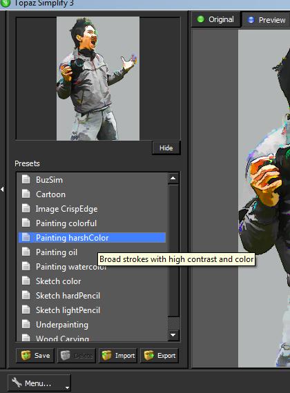 smudge4 Fungsi Smudge Tool di photoshop