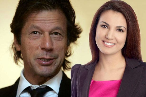 Imran khan and rehana khan shahid