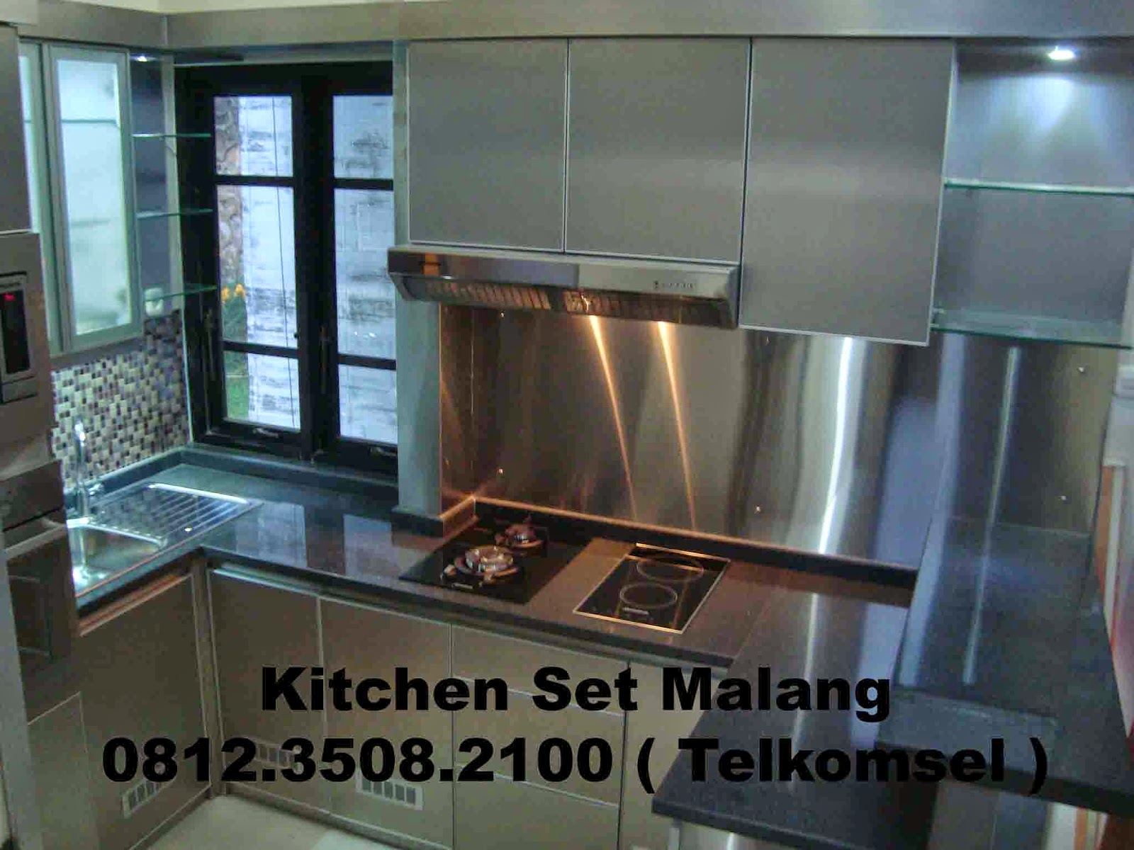 Kitchen set malang murah kitchen set di malang jasa for Harga kitchen set stainless per meter