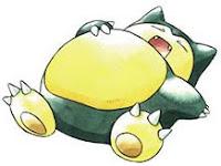 Snorlax, el pokémon dormilon