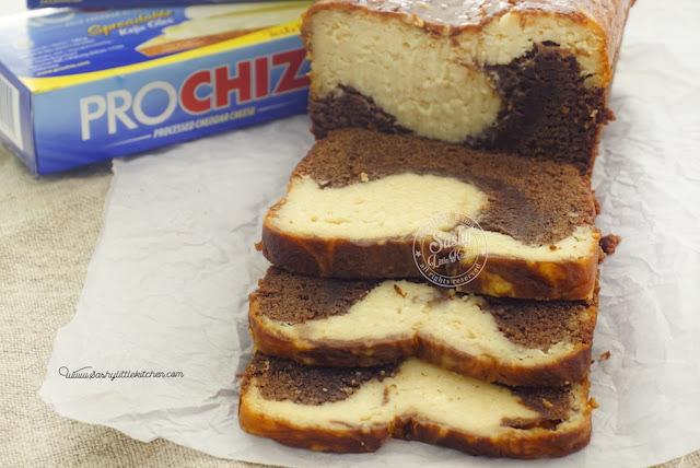Marble Loaf Cake ( #KreasiKejuProchiz)