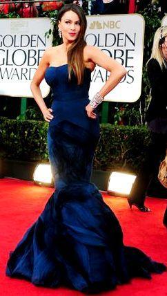 Foto de Sofía Vergara en los Premios Globo de Oro