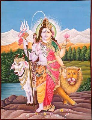 Kalki & Kali ,as Shiva