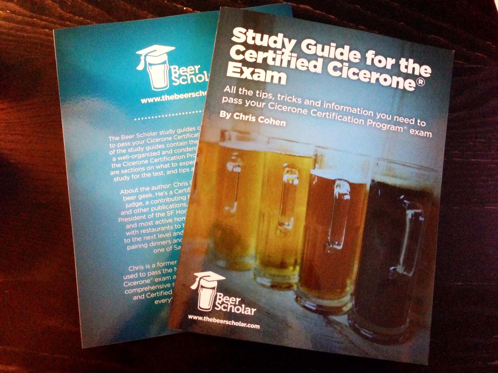 Certified Cicerone® Study Resources - Girls Love Beer