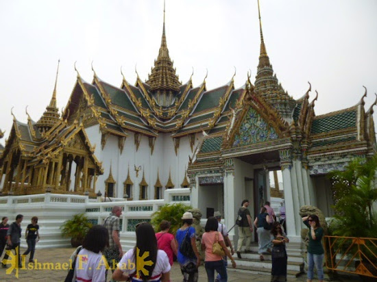 Gate to Maha Prasat in Bangkok Grand Palace