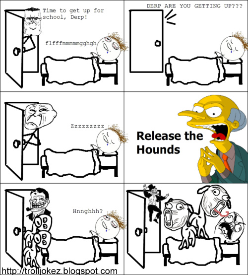 Le computer le rage comics - Here You Will Find Many Troll Jokes Troll Face Wakeup Call