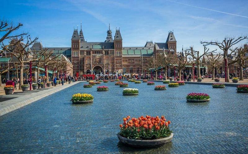 Festival del Tulipan, Hermitage Amsterdam Tulp Festival