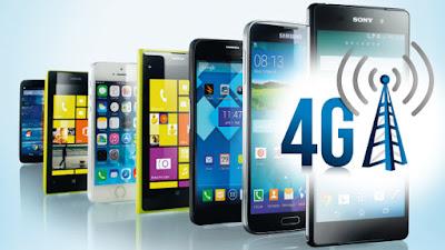 قائمة الهواتف الداعمة لتقنية4G  حاليا