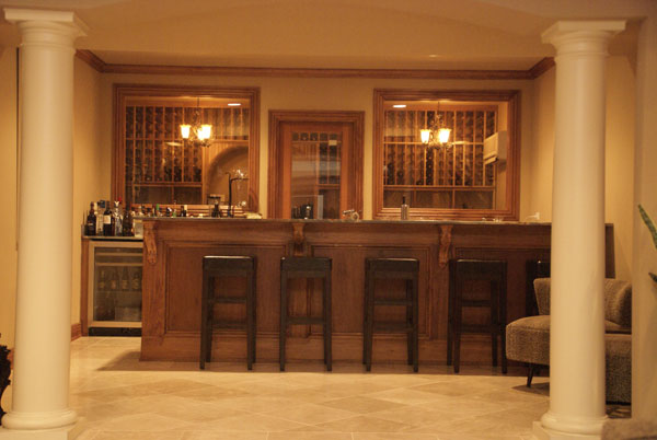 Home bar plans online basic bar models for your house or small business top website for home - Basement bar layout ideas ...