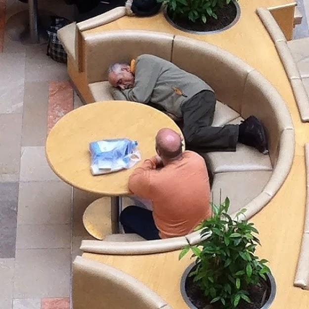 most bored men