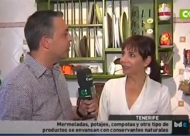 En el programa Buenos Días Canarias de TVCanaria