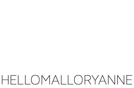 hellomalloryanne