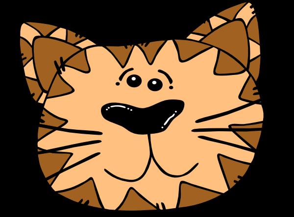 Kitten Face Cartoon