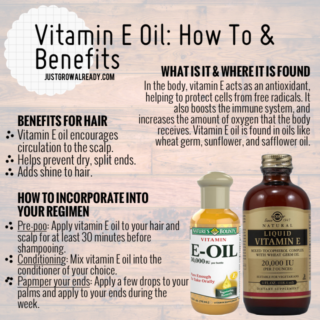 Natural Vitamin E Oil For Face