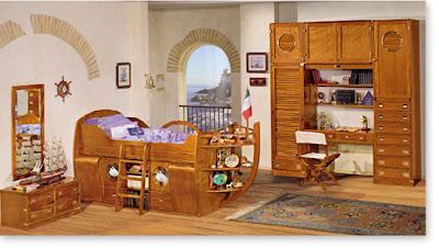 habitación marinera niño