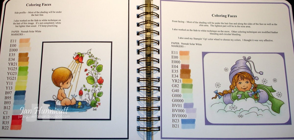 Simply Handcrafted: A Peek Inside My Copic Coloring Book