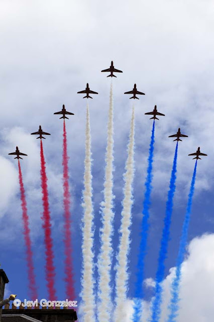 Edinburgh, Red Arrows, Scotland,