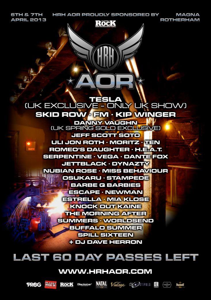 FM - HRH AOR 2013 poster