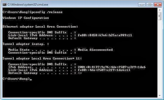Cara Mudah Mengganti IP Adress
