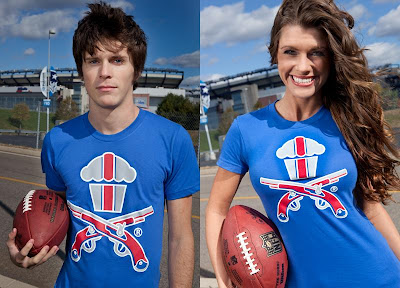 Johnny Cupcakes NFL Inspired T-Shirts - New England Patriots Cupcake &amp; Crossbones T-Shirt