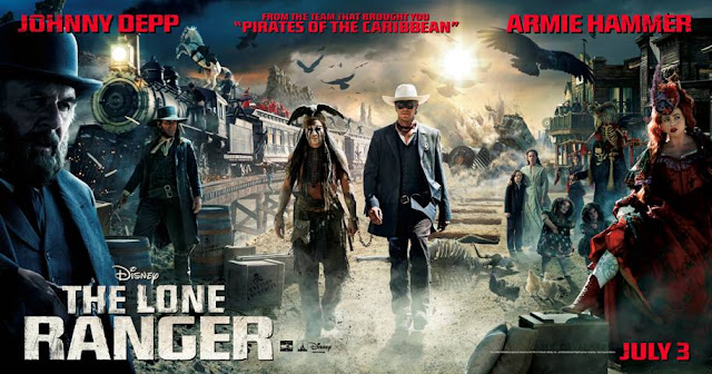 spoiler free review of Disney's The Lone Ranger, #LoneRanger