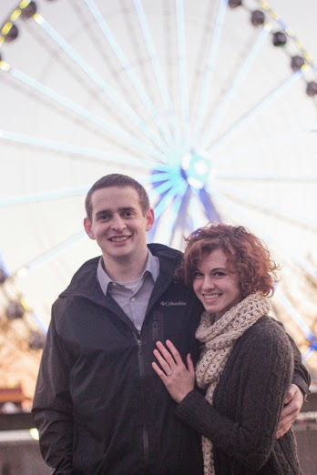Brandan and Megan engaged