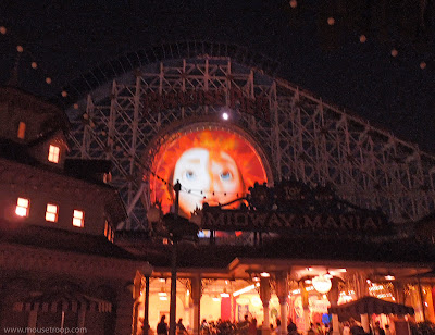 California Screamin' dark World Color loop Brave projection Merida