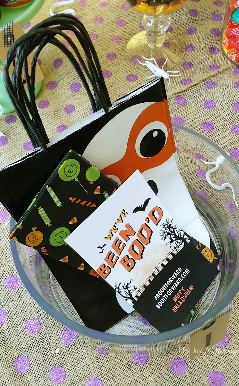 BOO It Forward Party bags