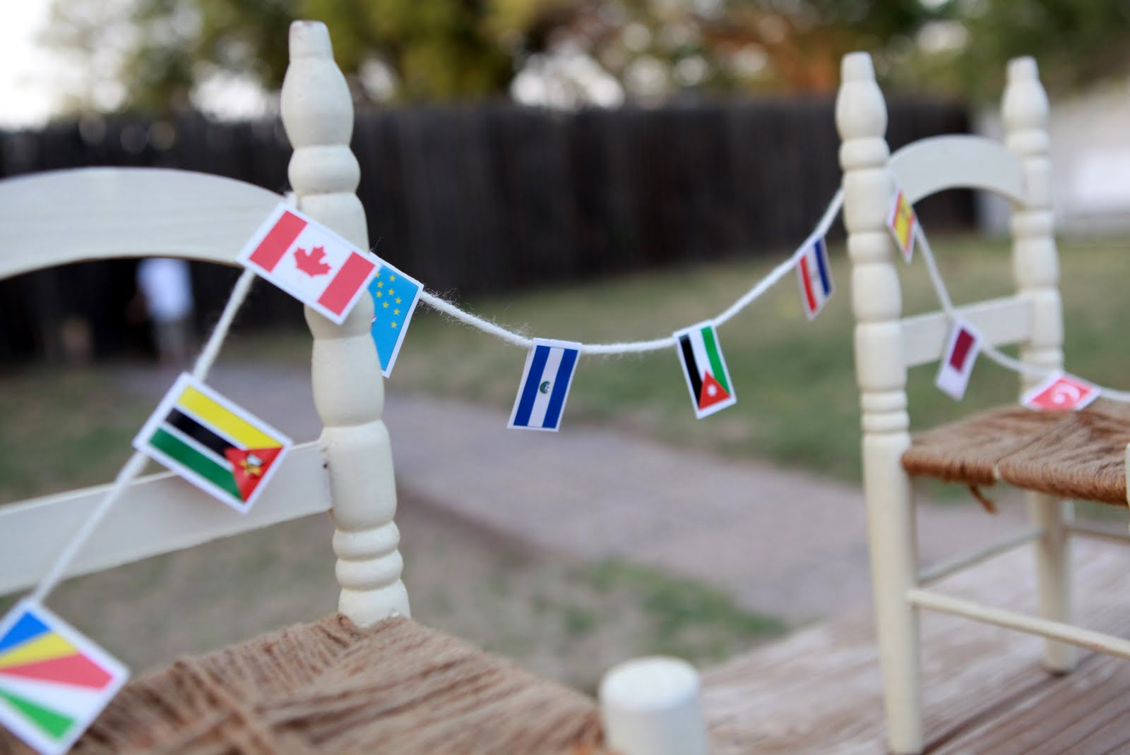 Around the world party for Around the world party decoration ideas