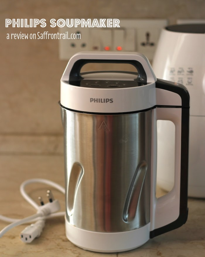 Review of the Philips Soupmaker + Giveaway + Recipe for Tomato-Red Bell Pepper Soup