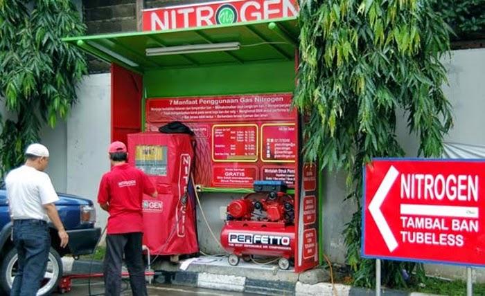 Gas Nitrogen Untuk Ban Mobil