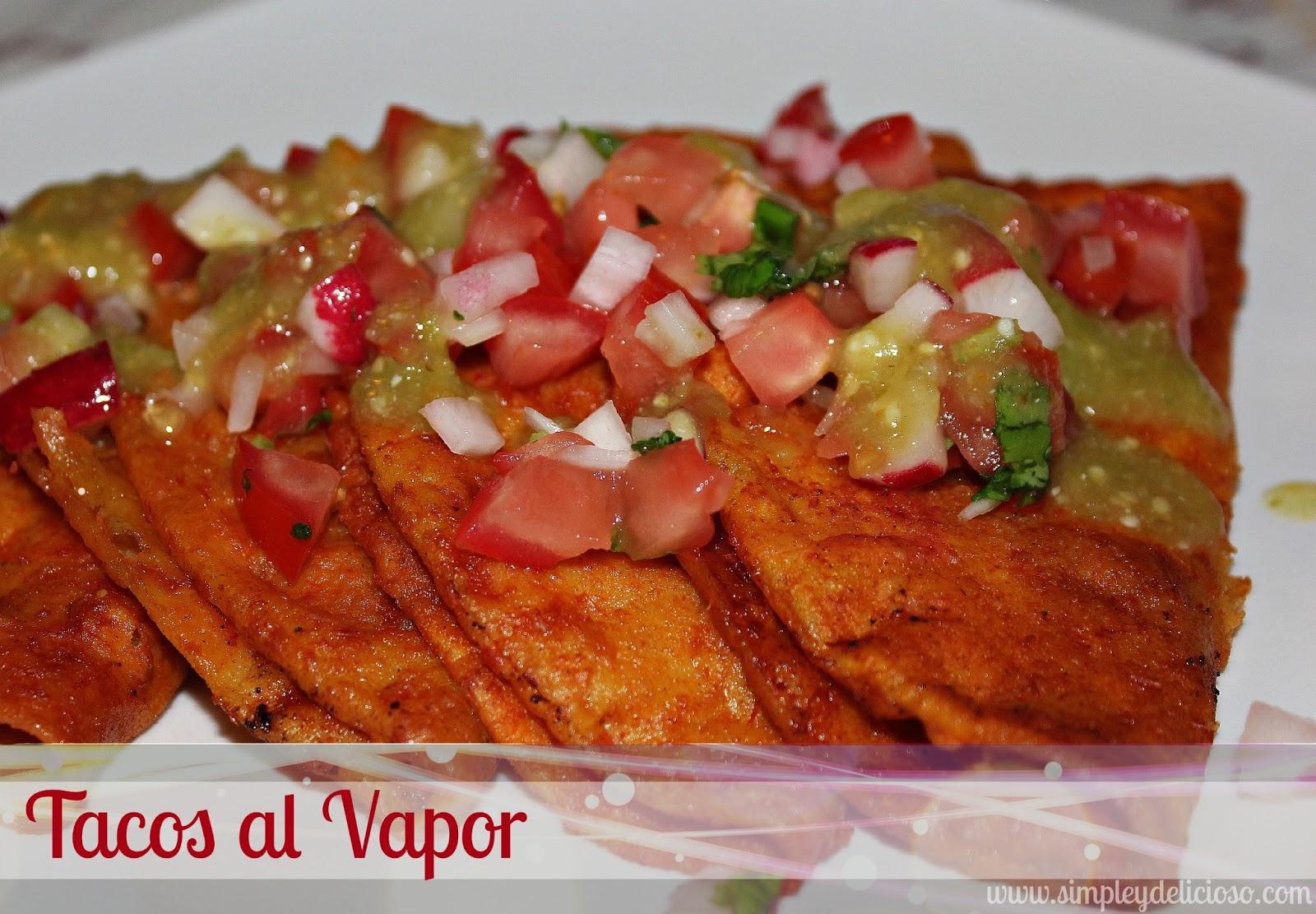 también conocidos como tacos sudados y tacos de canasta los tacos al