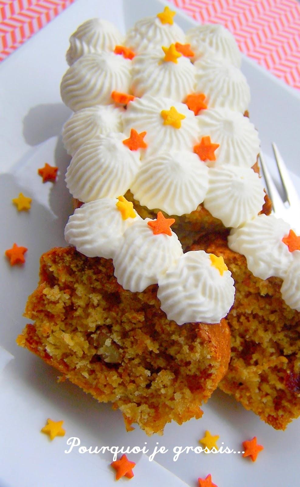 Carrot Cake Sans Beurre Ni Huile