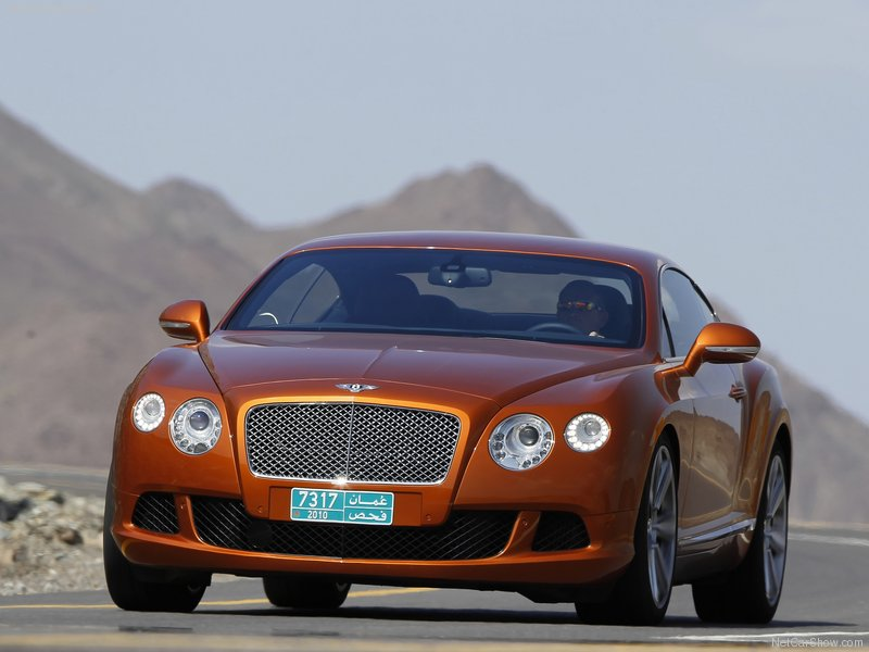 2012 new Bentley Continental GT