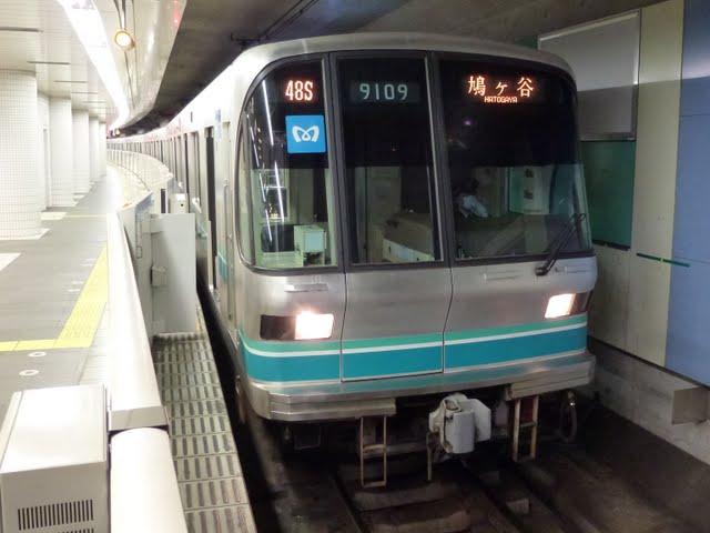 東京メトロ南北線 鳩ケ谷行き3 東急3000系
